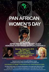 Pan-African Women's Day – Los Angeles, CA, U.S.