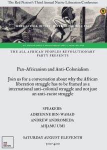 Pan-African & Anti-Colonialism at Native Liberation Conference – Albuquerque, NM, U.S.