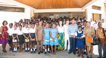Program with Secondary High School Pan-African Clubs