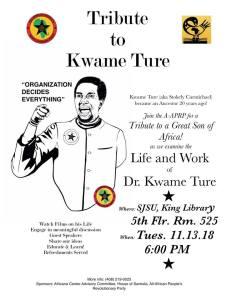 Tribute to Kwame Ture – San Jose, CA, U.S.