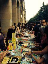 Día del Libro 2014, Zaragoza. Virginia Aguilera.