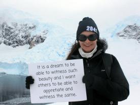 I want to save Antarctica because... -Emma Davie, 21, UK