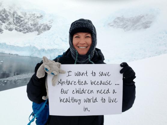 I want to save Antarctica because... -Jamie Butler, USA