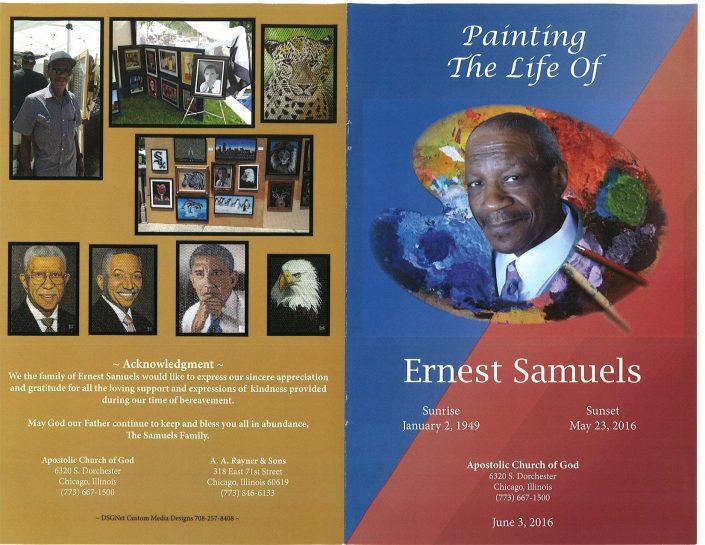 Ernest Samuels Obituary