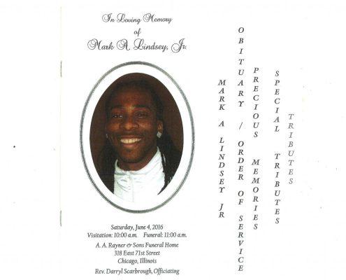 Mark A Lindsey Jr Obituary