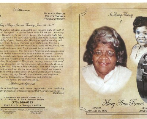 Mary Ann Reeves Obituary 2093_001