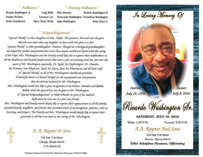Ricardo Washington Sr Obituary 2081_001