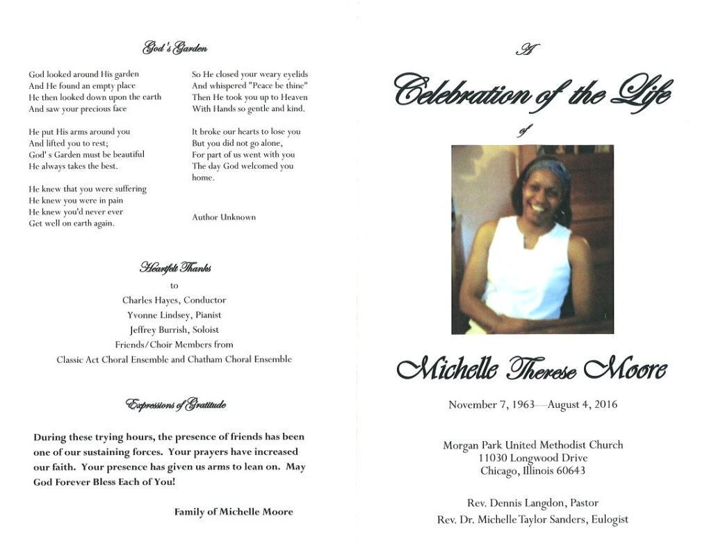Michelle Therse Moore Obituary 2163_001