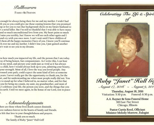 Ruby Janet Hall Goff Obituary 2196_001