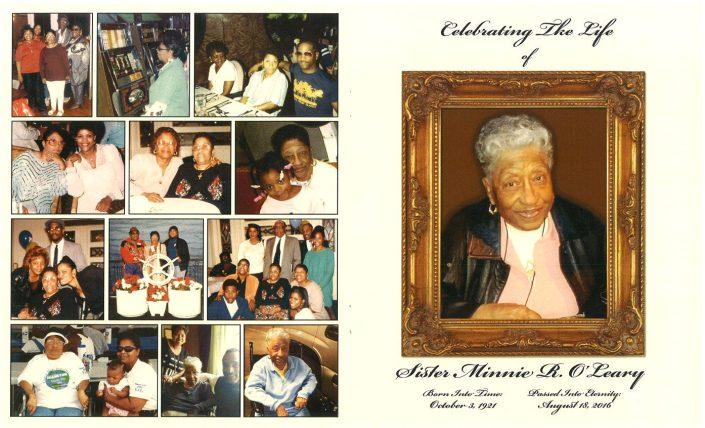 Sister Minnie R. O Leary Obituary 2215_001