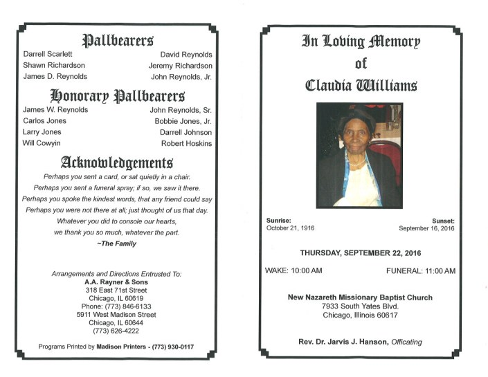 Claudia Williams Obituary 2319_001