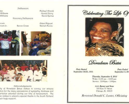 Doradean Bates Obituary 2263_001
