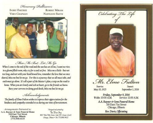 Mr Elmo Fulton Obituary 2266_001