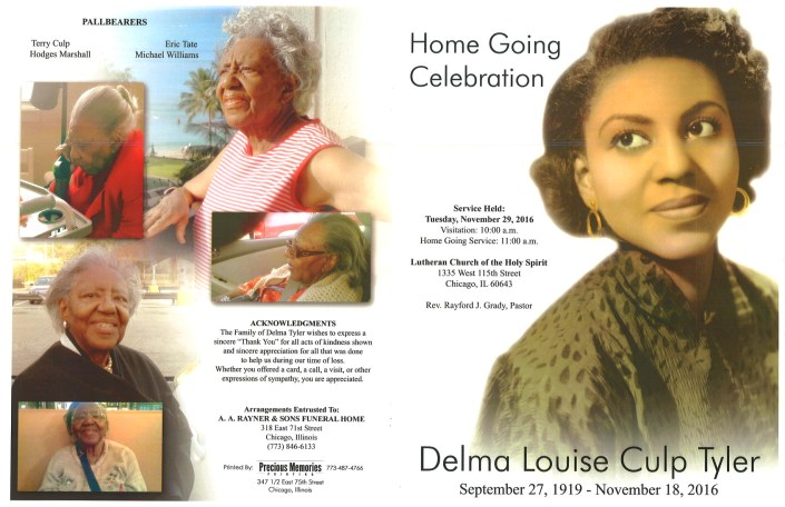 Delma Louise Culp Tyler Obituary