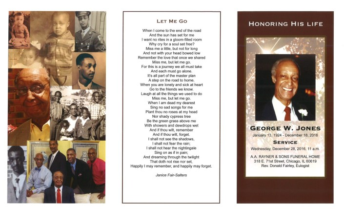 George W Jones Obituary