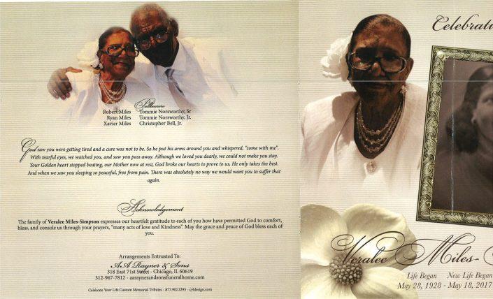Veralee Miles Simpson Obituary