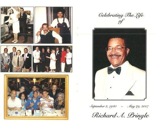Richard A Pringle Obituary