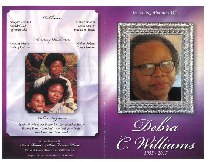 Debra C Williams Obituary