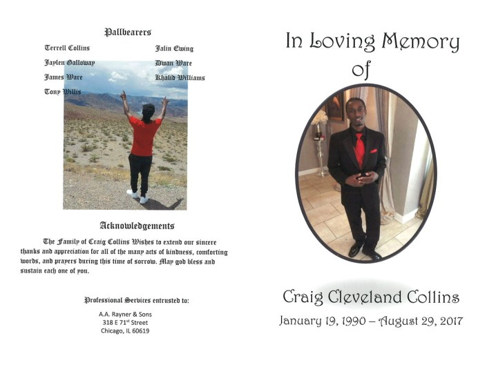 Craig Cleveland Collins Obituary