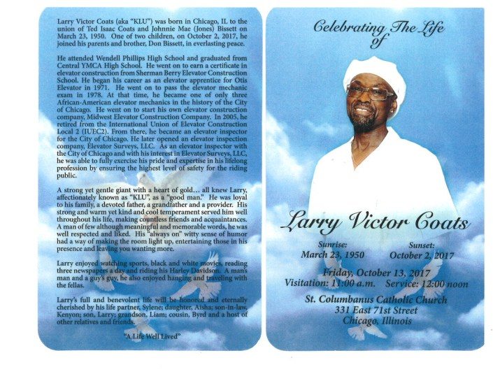 Larry Victor Coats Obituary