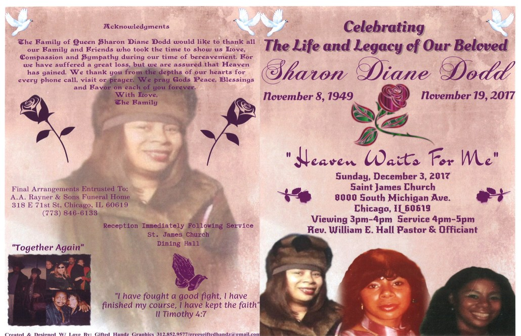 Sharon Diane Dodd Obituary