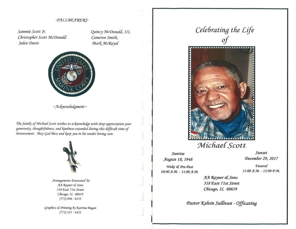 Michael Scott Obituary