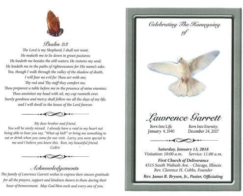 Lawrence Garrett obituary