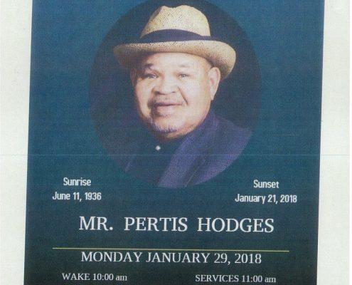 Mr pertis Hodges Obituary
