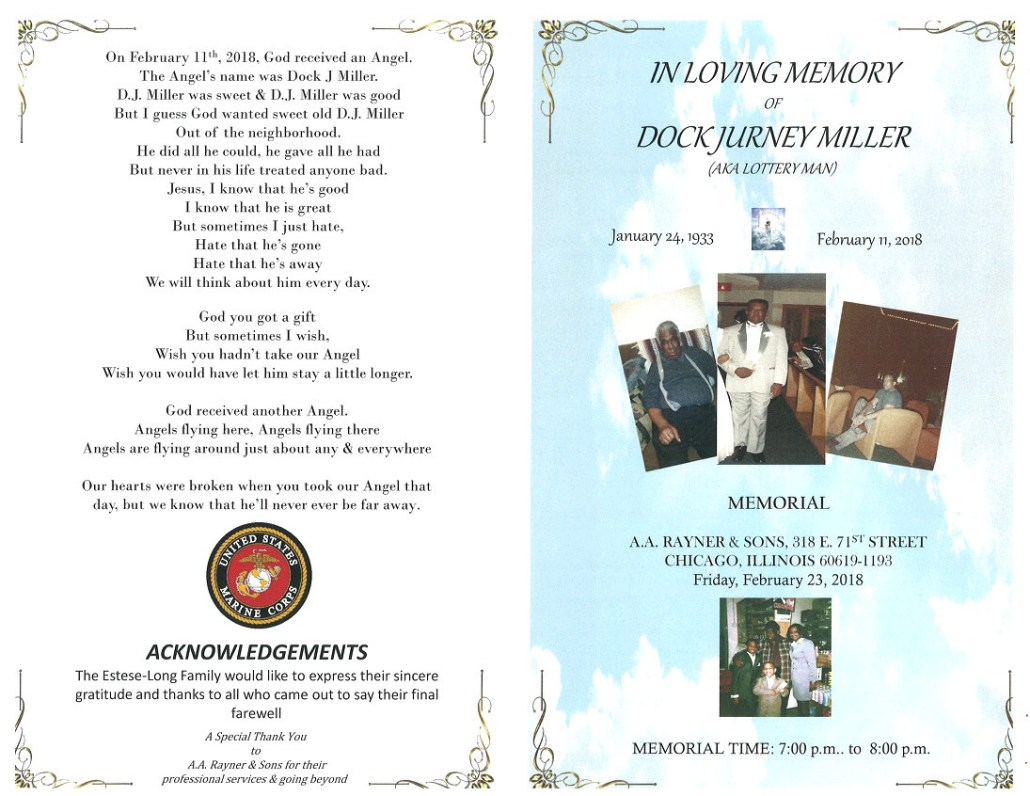 Dock Jurney Miller Obituary
