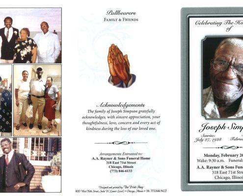 Joseph Simpson Obituary