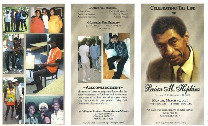 Brian M Hopkins Obituary