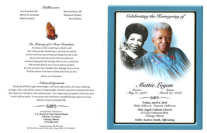 Mattie Logan Obituary