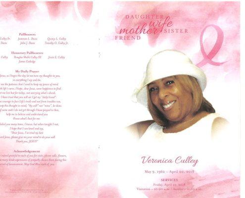 Veronica Culley Obituary