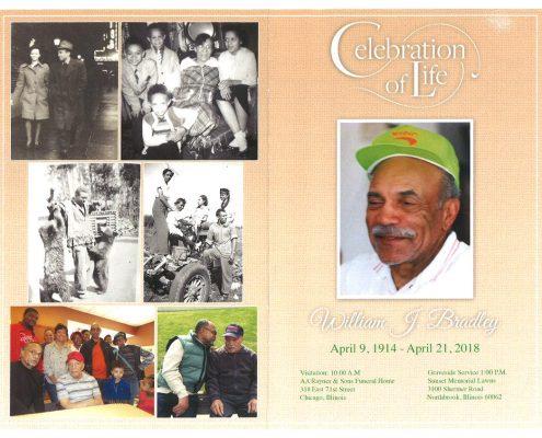 William J Bradley Obituary