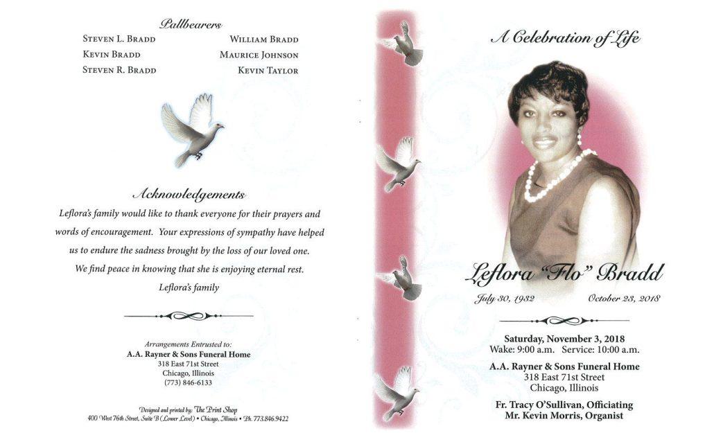 Leflora Flo Bradd Obituary