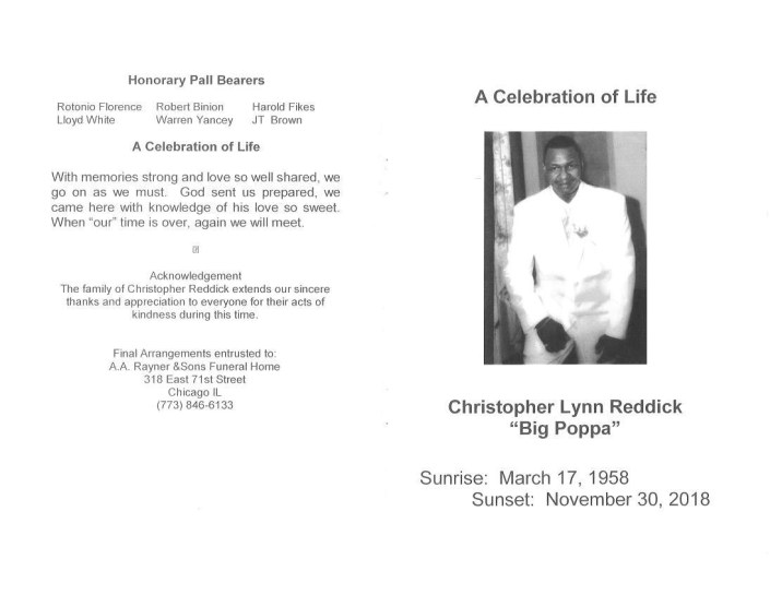 Christopher Lynn Reddick Obituary