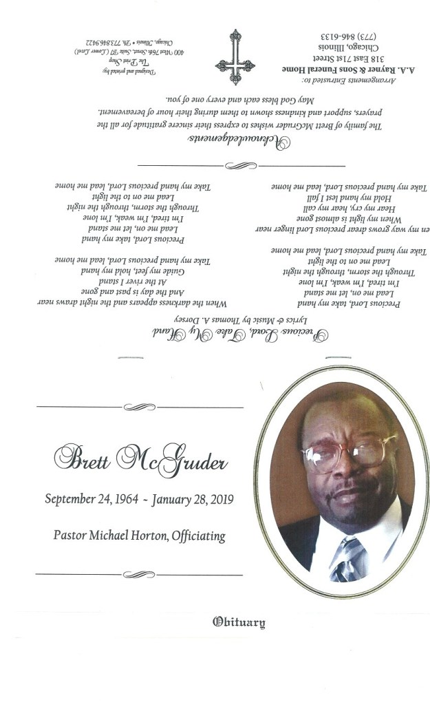 Brett McGruder Obituary