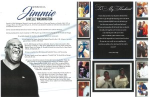 Jimmie Washington Obituary