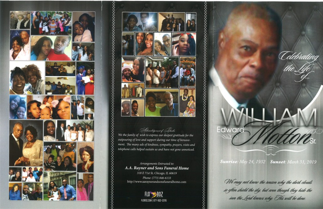 William E Motton Sr Obituary