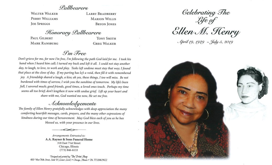 Ellen Henry Obituary