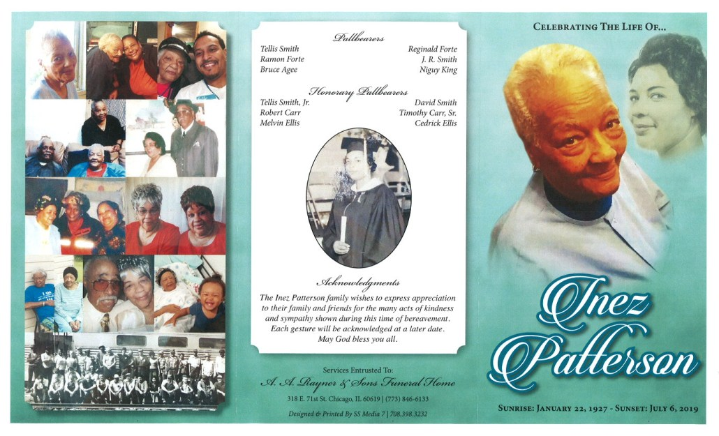 Inez Patterson Obituary