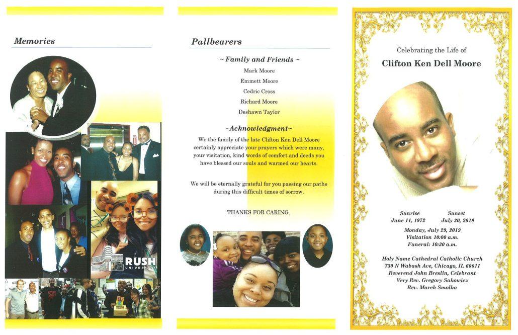 Clifton Moore Obituary
