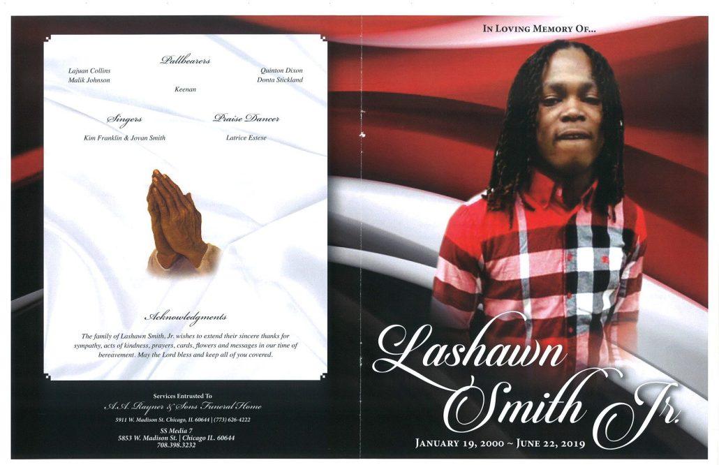 Lashawn Smith Jr Obituary