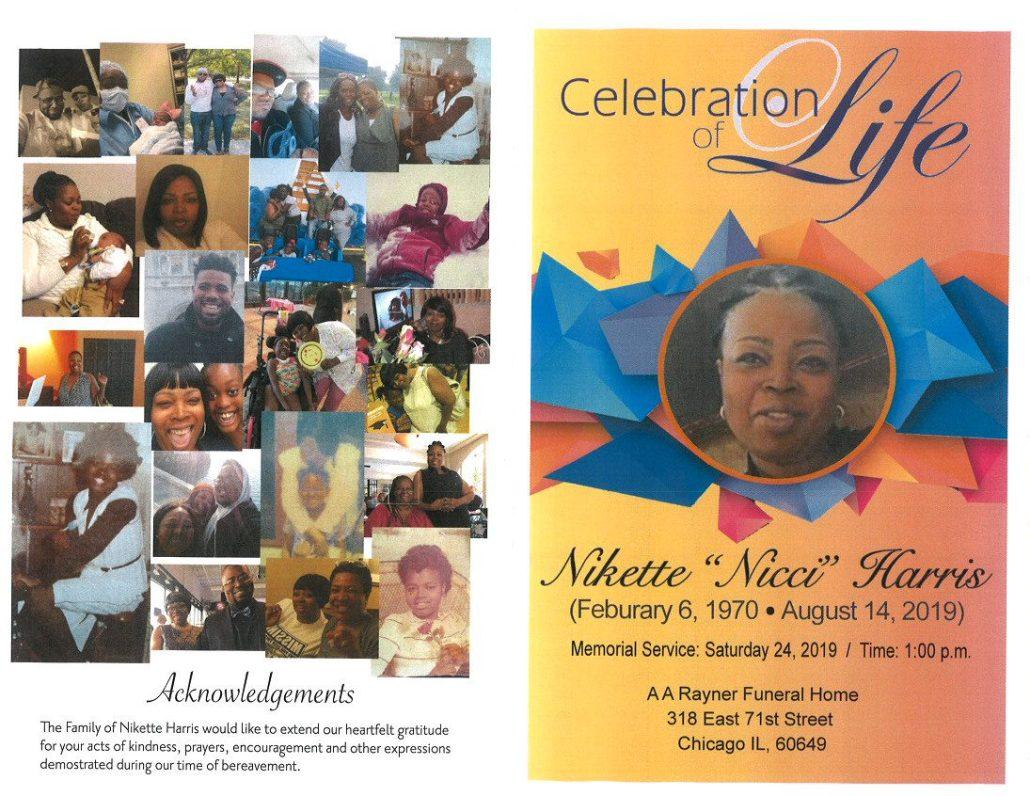 Nikette Harris Obituary