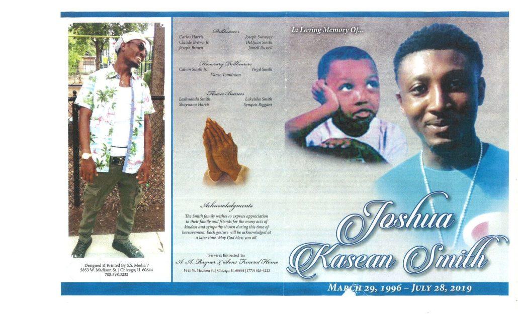 Joshua K Smith Obituary
