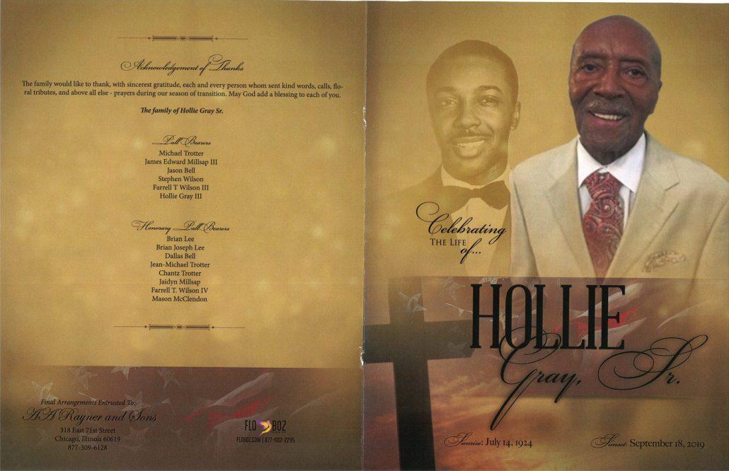 Hollie Gray Sr Obituary