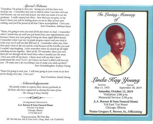 Linda K Young Obituary