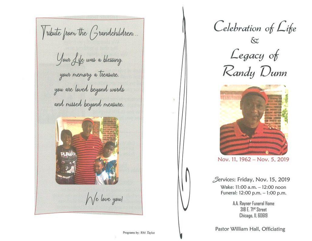 Randy Dunn Obituary