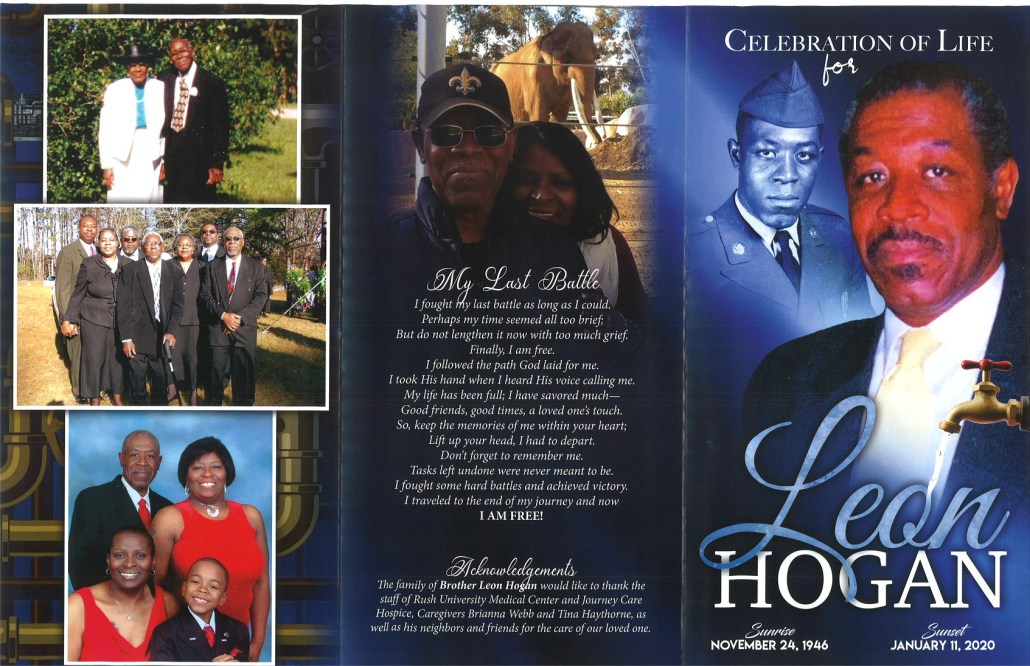 Leon Hogan Obituary