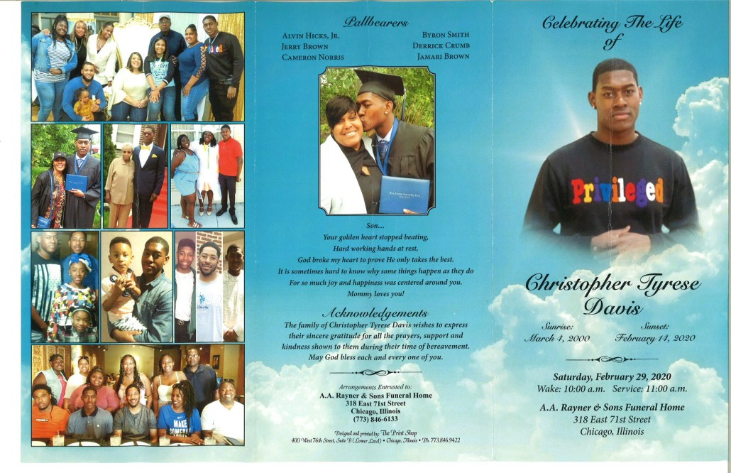 Christopher T Davis Obituary